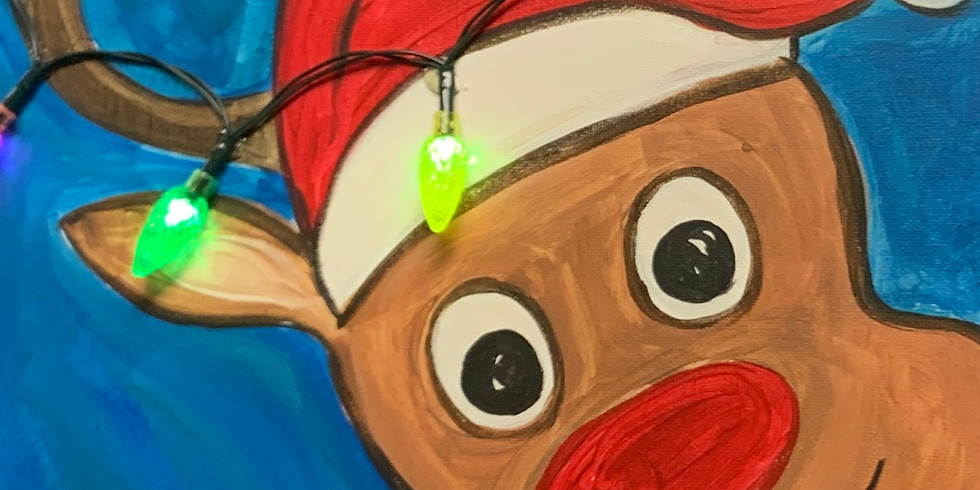 Silly Rudolph!- Public Artsy Party- Family event!