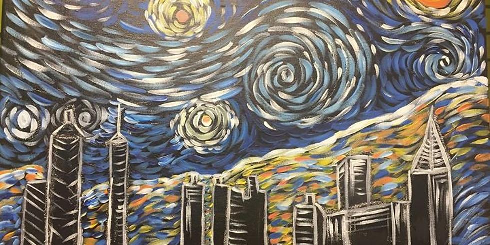 Starry Atlanta Night- Public Artsy Party