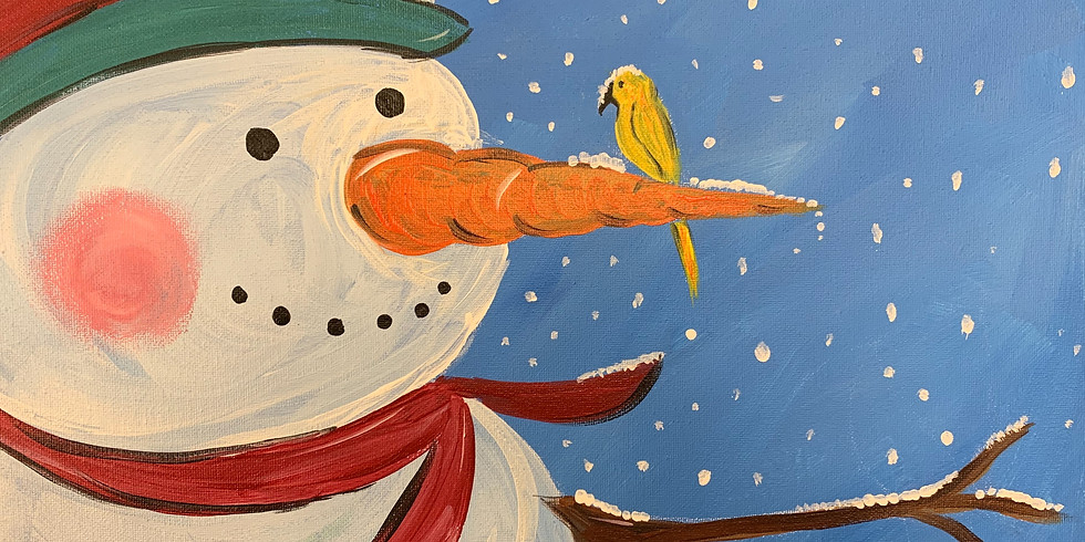 Frosty Is Back!- Virtual Artsy Party