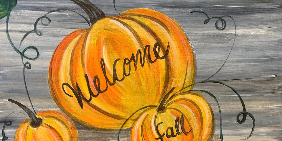 Welcome Fall! -Public Artsy Party
