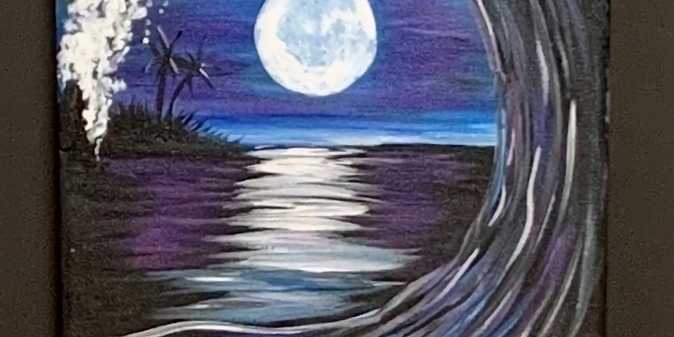 Full Moon Wave! Virtual or In- Person Artsy Party!