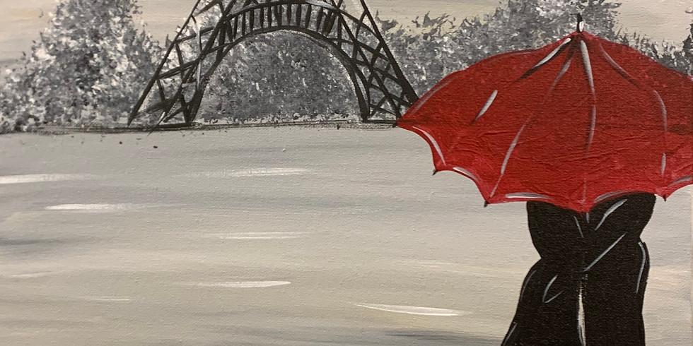 Winter In Paris, Virtual or In- person Artsy Party