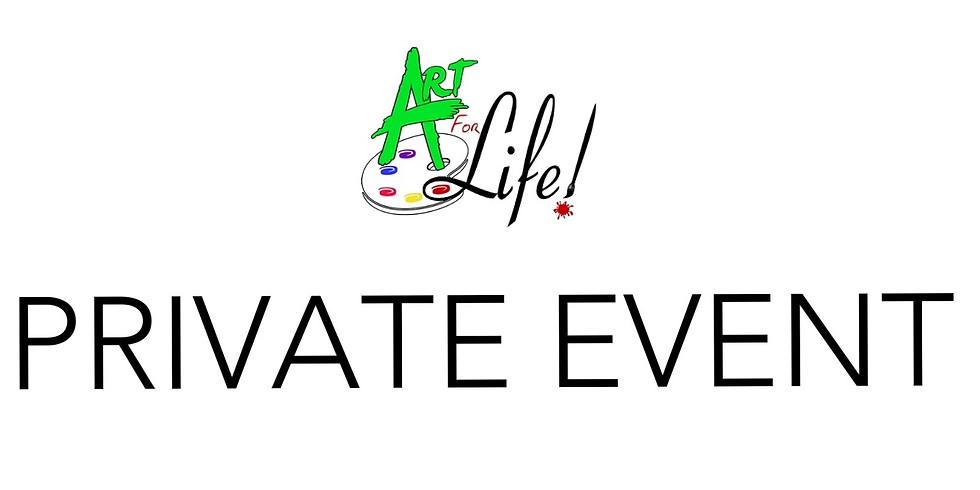 Private Artsy Party Celebration!