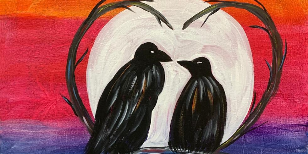 Crow Moon - Public Artsy Party!