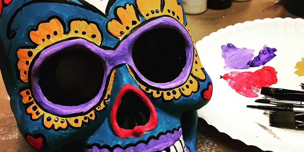 SugarSkull- Calavera!- Public Artsy Party