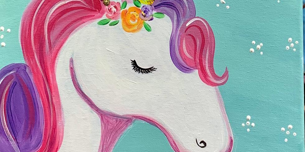 Virtual Artsy Party -My Magic Unicorn!