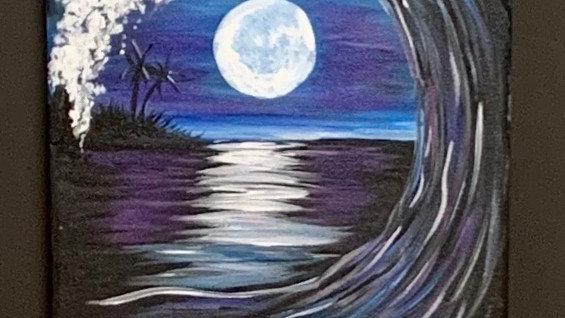 Full Moon Wave!! Virtual or In- Person Artsy Party!