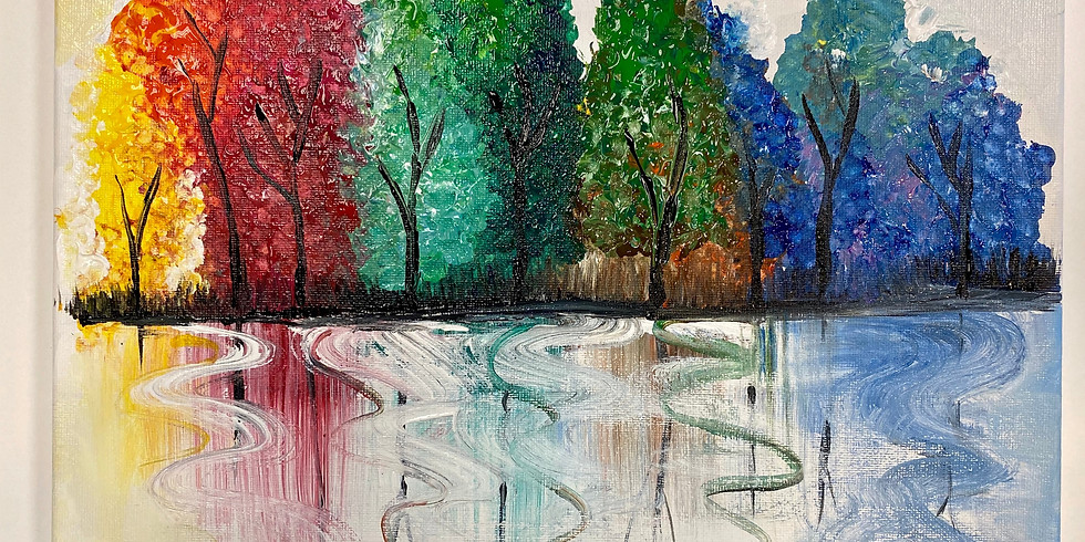 Rainwow Forest !-Virtual or In- Person  Artsy Party