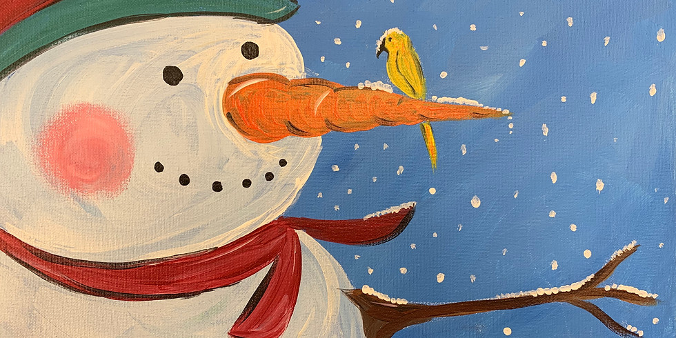 Frosty Is Back!- Public Artsy Party!- 6 Years Old and Up!