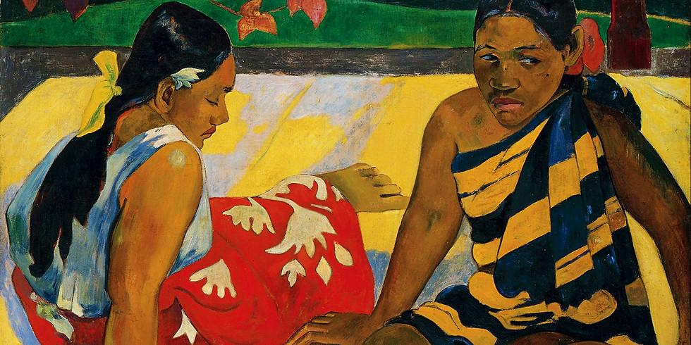 Paint Like Paul Gauguin-- Children's Online Classes- (5-8 YR. OLDS)