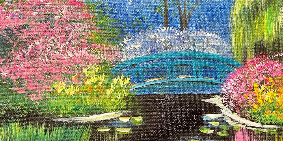 Spring Impressionism! Virtual or In- Person Artsy Party!