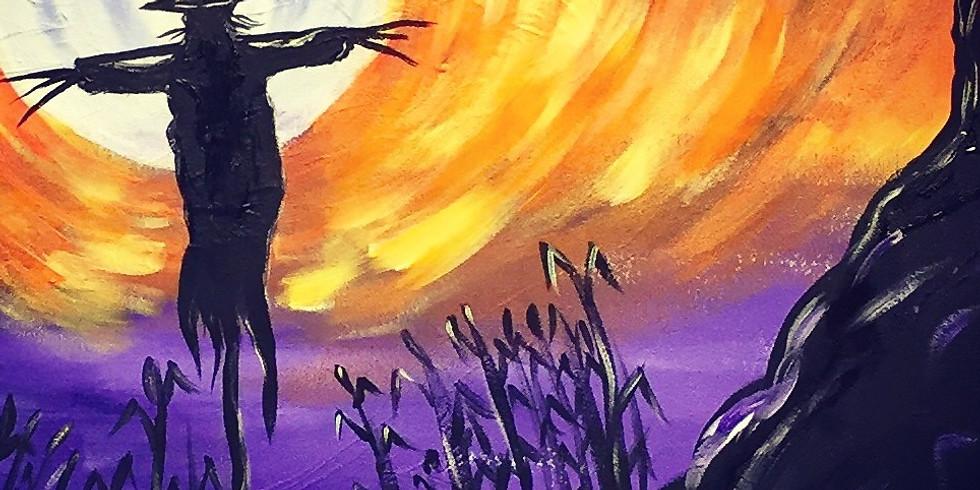 Scarecrow Moon-Virtual or In- Person  Artsy Party