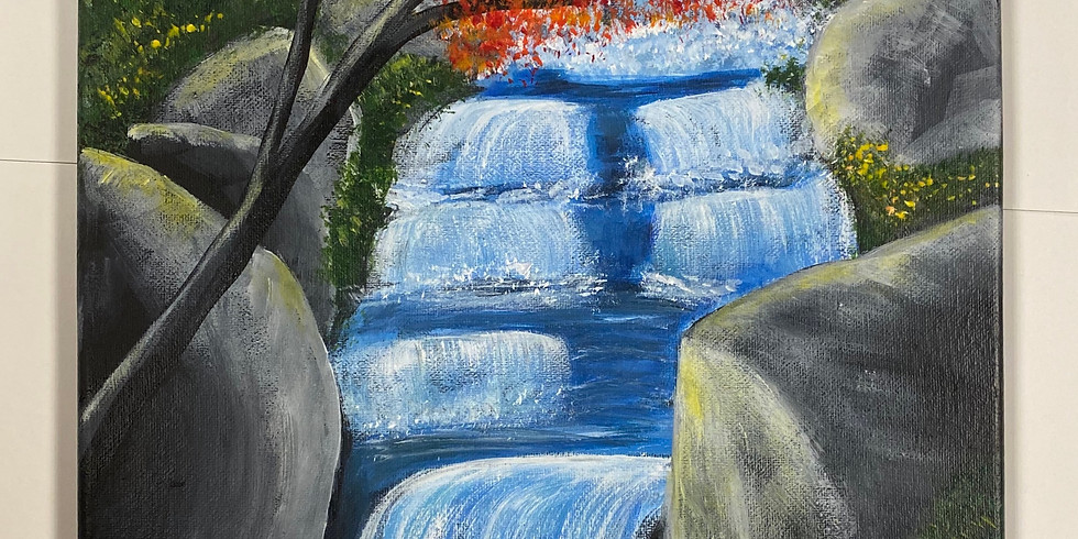 Falls In Fall! Virtual or In-Person Artsy Party!-SOLD OUT!