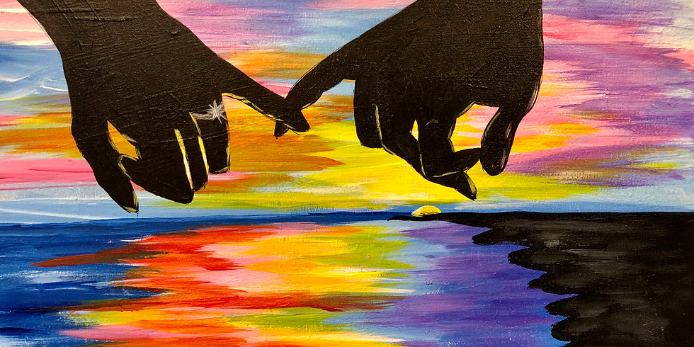 Promise Me...! INCLUDES wine and hors d'oeuvres Public Artsy Party!