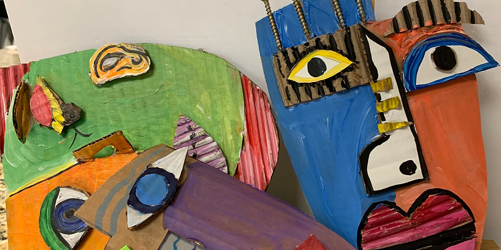 Virtual Artsy Project! Picasso Faces