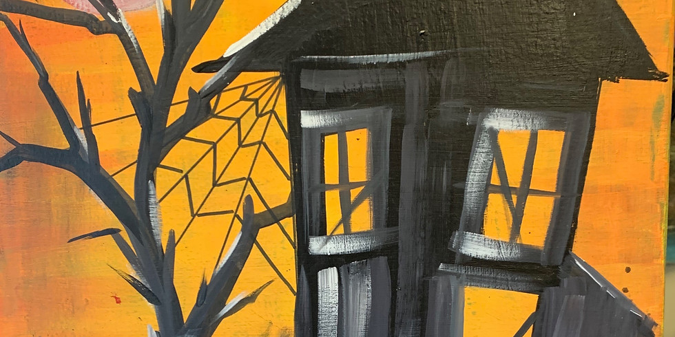 The Haunted House- Public Artsy Party