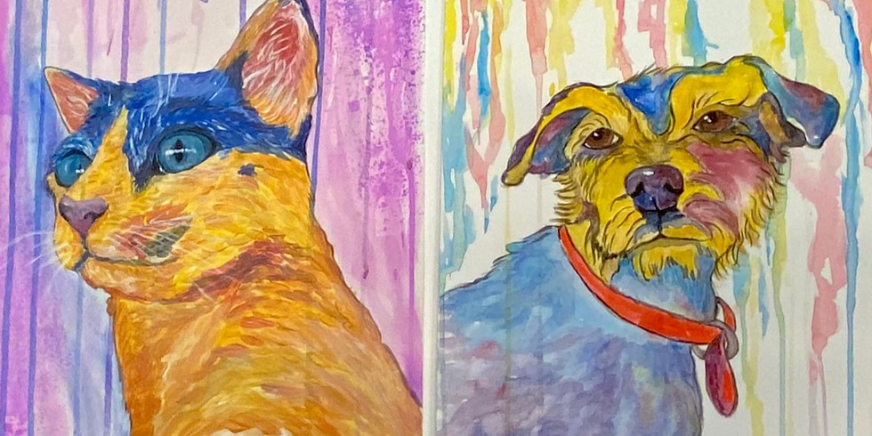 Pinta tu Mascota en multicolores! - Evento Virtual Privado-