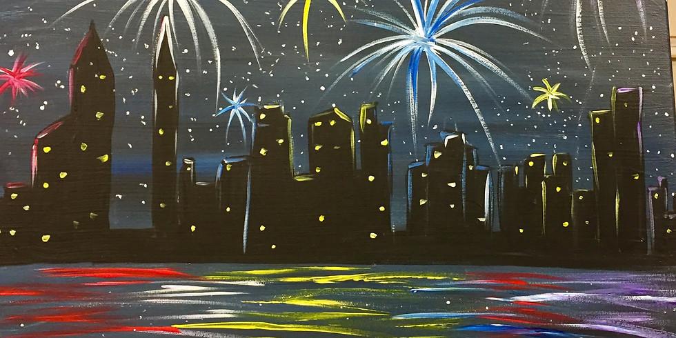 Atlanta 4th Of July!-Public Artsy Party