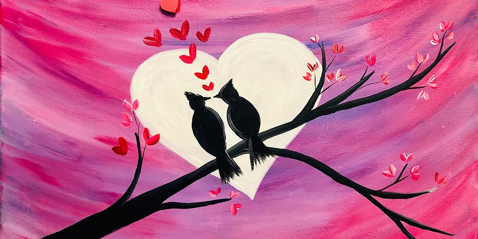 Lovebirds-Public Artsy Party