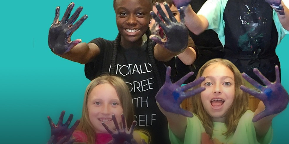 Art & Space-Summer Art Camp! 5 Years Old and Up!! -SOLD OUT