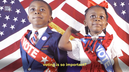 "Votemaster Caleb - ""Vote for Us Kids"""