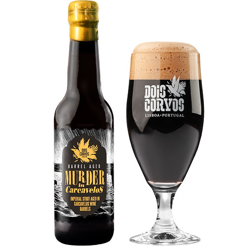 Murder in Carcavelos (Carcavelos BA Imperial Stout)