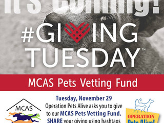 It's coming! #GivingTuesday!
