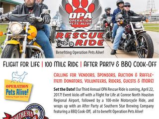OPA's Rescue Ride: Win a Harley!