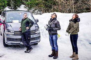 Neumeiser Media Crew mit Produzent Marc Neumeister