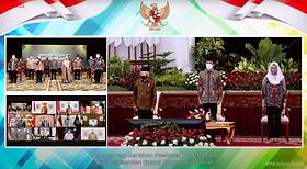 Presiden Jokowi Luncurkan Gerakan Nasional Wakaf Uang & Resmikan Brand Ekonomi Syariah