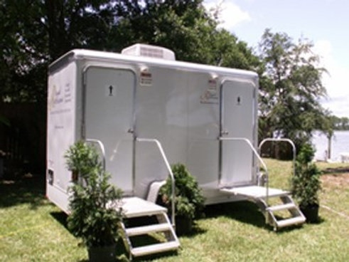 2 Unit Standard Washroom Trailer