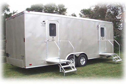 7 Unit Standard Washroom Trailer
