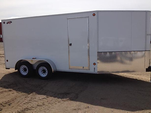 2016 CJay 7' x 14' Enclosed Cargo Trailer