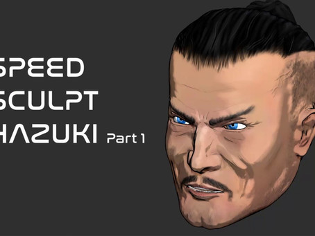 New Hazuki Design - ZBrush Speed Sculpt