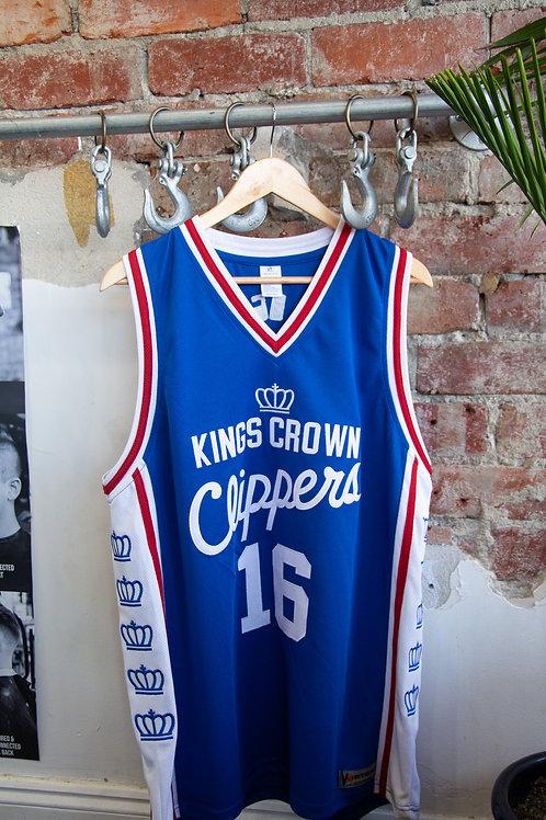 Kings Crown Basketball Jersey