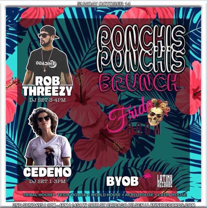 PONCHIS PONCHIS BRUNCH - SUN OCT 14