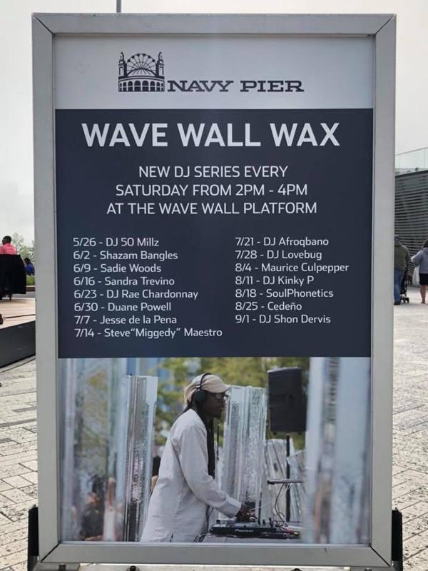 WAVE WALL WAX - SAT AUG 25