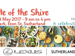 A Taste Of The Shire 2017