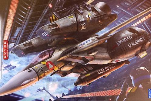 """1/72 VF-1 J Super/Strike Valkyrie """"SVF-41 BLACK ACES"""""""