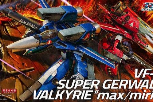 """1/72 VF-1J Super Gerwalk Valkyrie """"Max/Miria"""""""