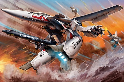 1/72 VF-1J/A GERWALK Valkyrie