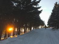 Lysa Hora winter bike 2016