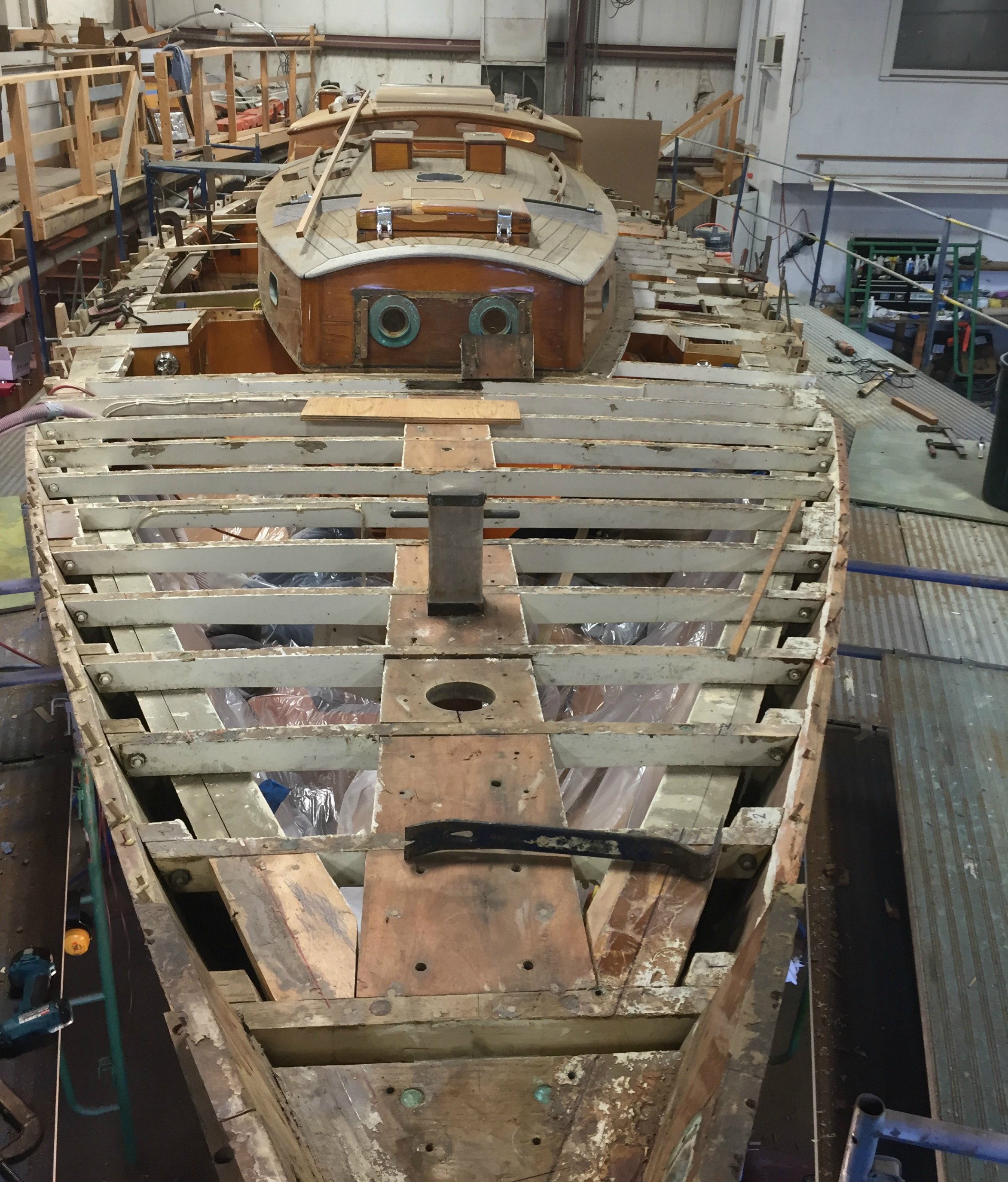 Rhodes Sailboat Refit