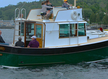 NEW LEASE ON LIFE FOR A CLASSIC TRAWLER