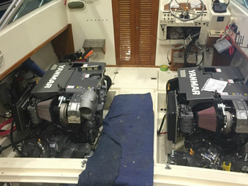 BOAT ENGINE REPOWER