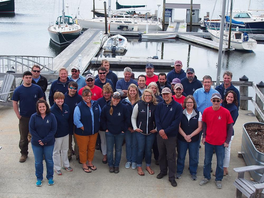 Hodgdon Yacht Services Crew