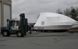Maine Indoor Boat Storage Building