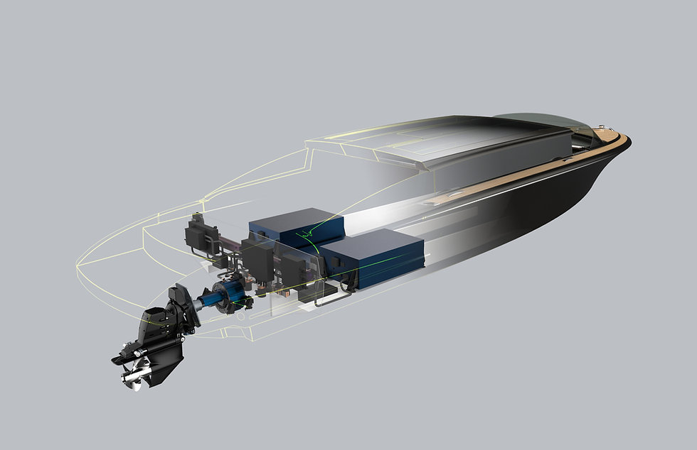 Electric Tender Propulsion System