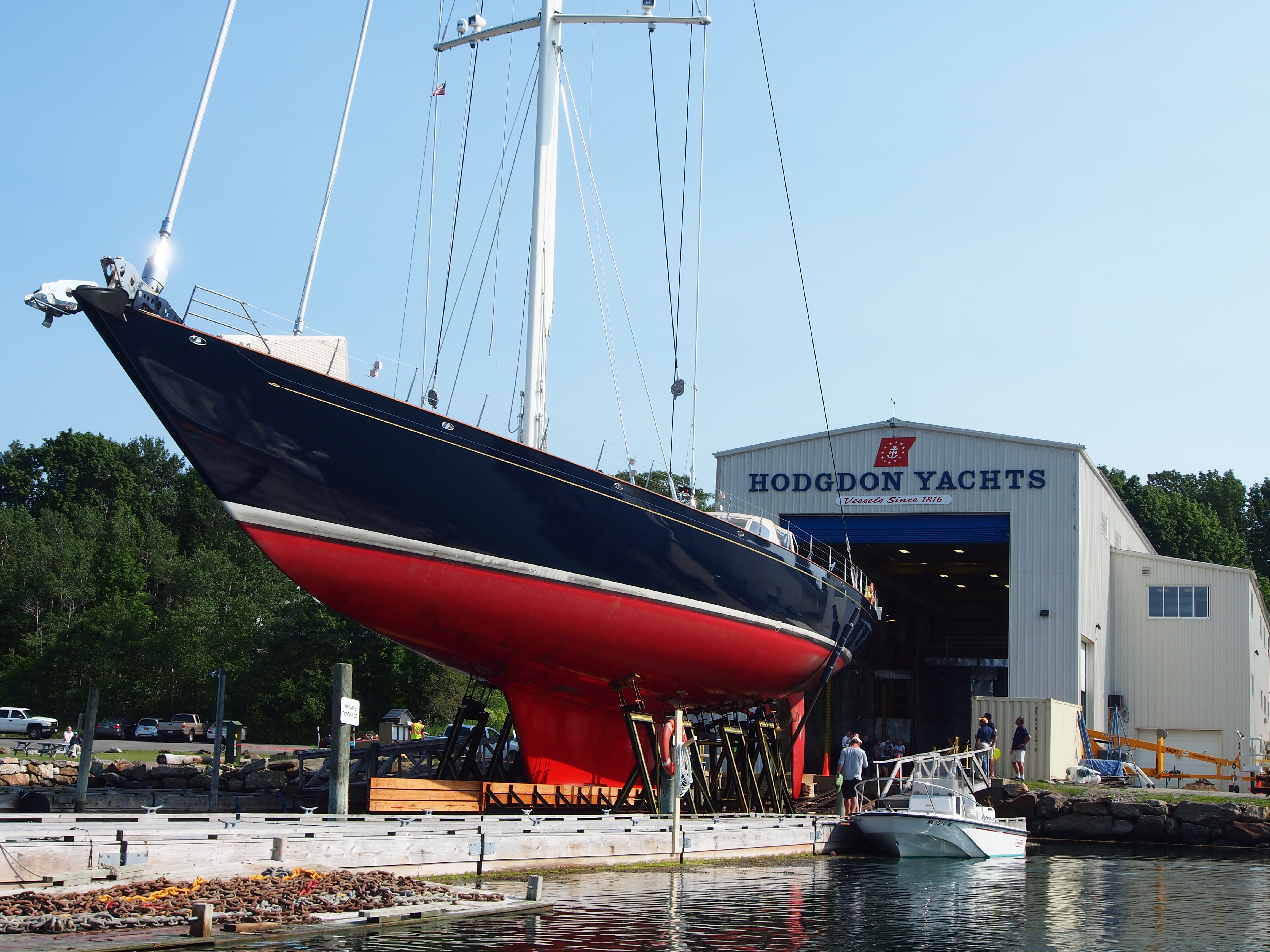 Superyacht Refit Maine