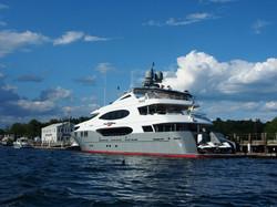 Maine Mega Yacht Dock